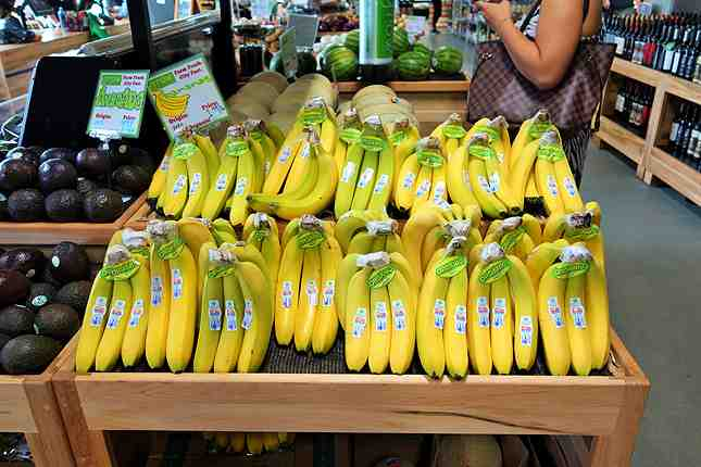 Organic bananas at $1.49/lb