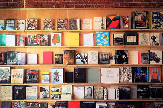 The 2,000 square foot Hauser Wirth & Schimmel bookstore