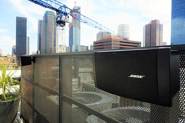I'm liking the Bose speakers on the lounge deck