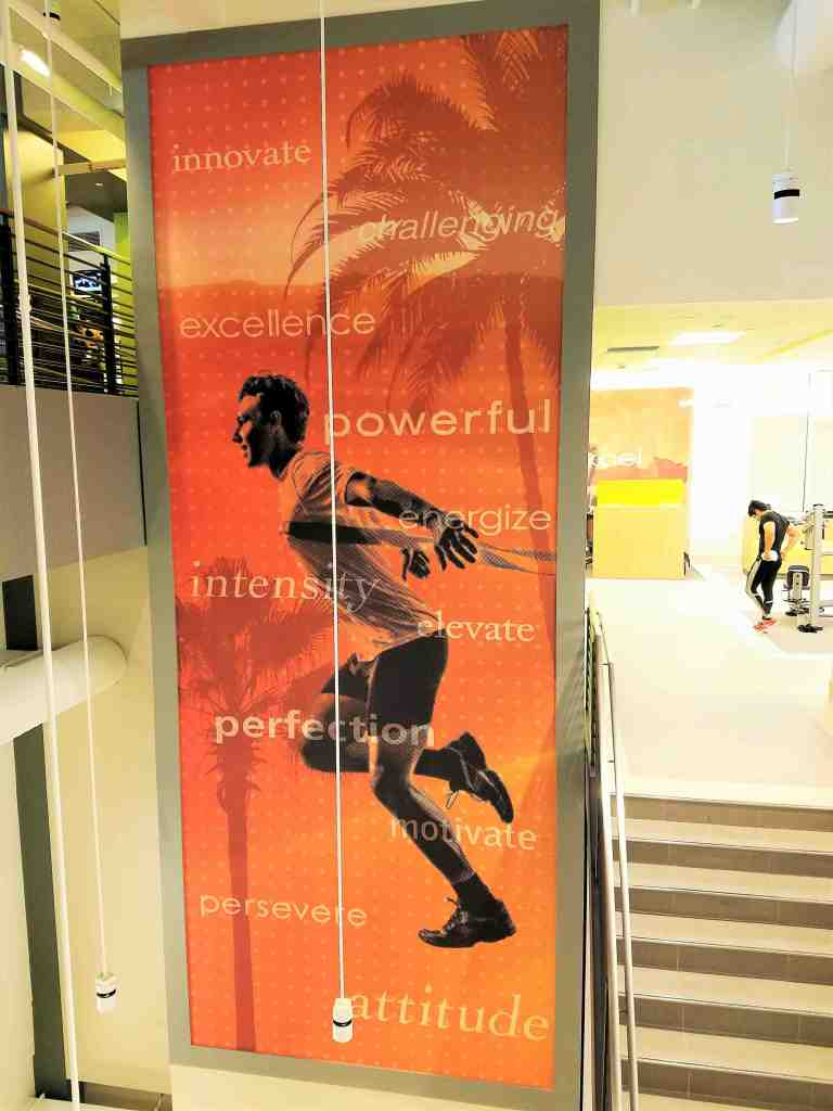 The new expansive 31,000 square foot sports club includes three floors of workout areas