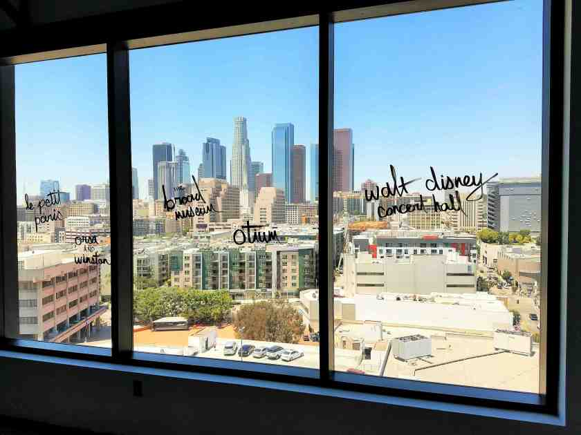 Views of the DTLA skyline from Brunswig are awesome to say the least
