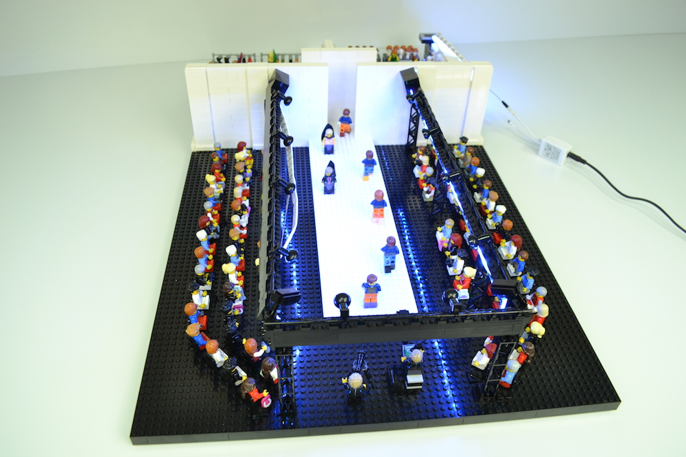 LEGO Milan Fashion Show