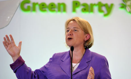 Natalie Bennett Green Party leader autumn conference
