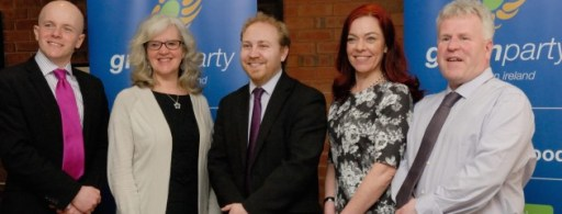 Green Party NI at their recent conference - greenpartyni.org