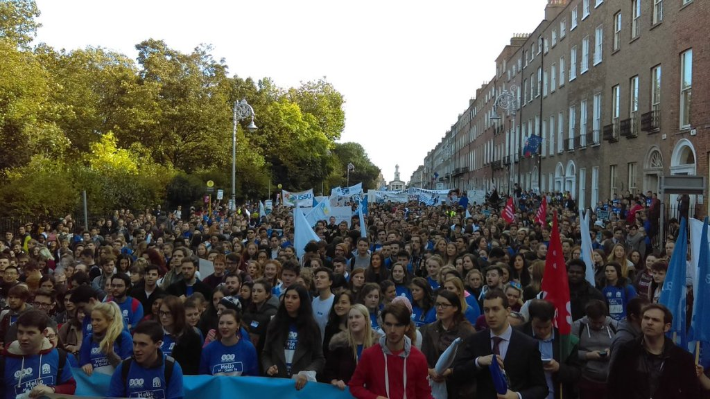 Photo: Union of Students in Ireland