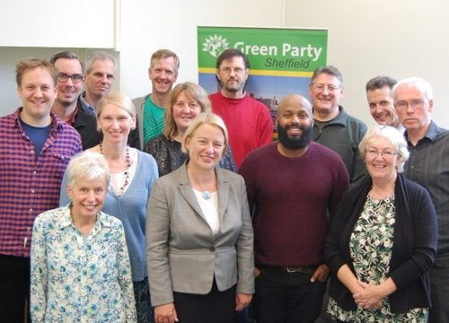 Natalie Bennet was selected by Sheffield members