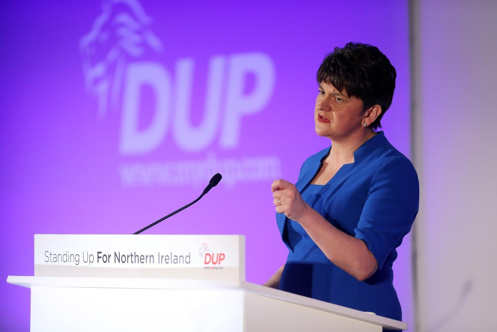 Arlene Foster, DUP Leader and Northern Ireland First Minister- credit, flicker user 'DUP Photos' https://creativecommons.org/licenses/by-nc-nd/2.0/