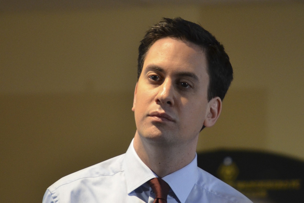 Ed Miliband, former Labour Party leader. Image credit Plashing Vole http://tinyurl.com/zjh35wp
