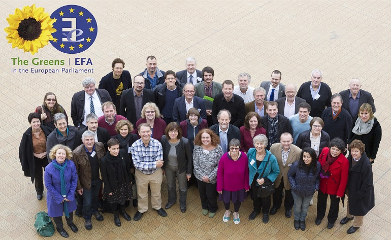 Green and EFA MEPs