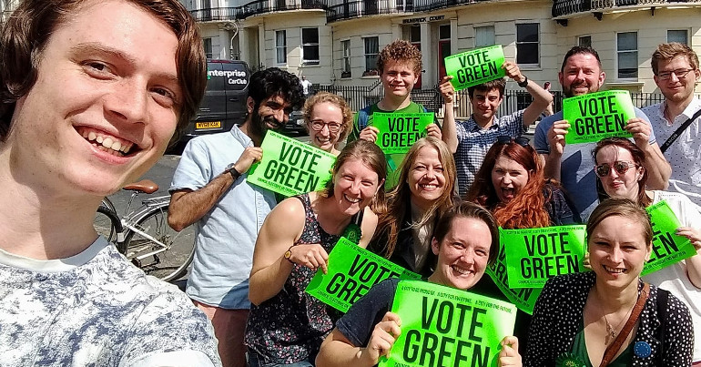 Young Greens action weekend in Brighton & hove