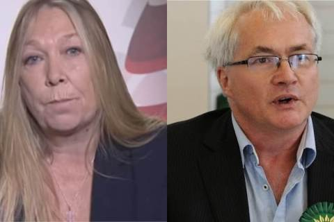 Tina Rothery and Martin Hemingway to stand for Green Party leadership