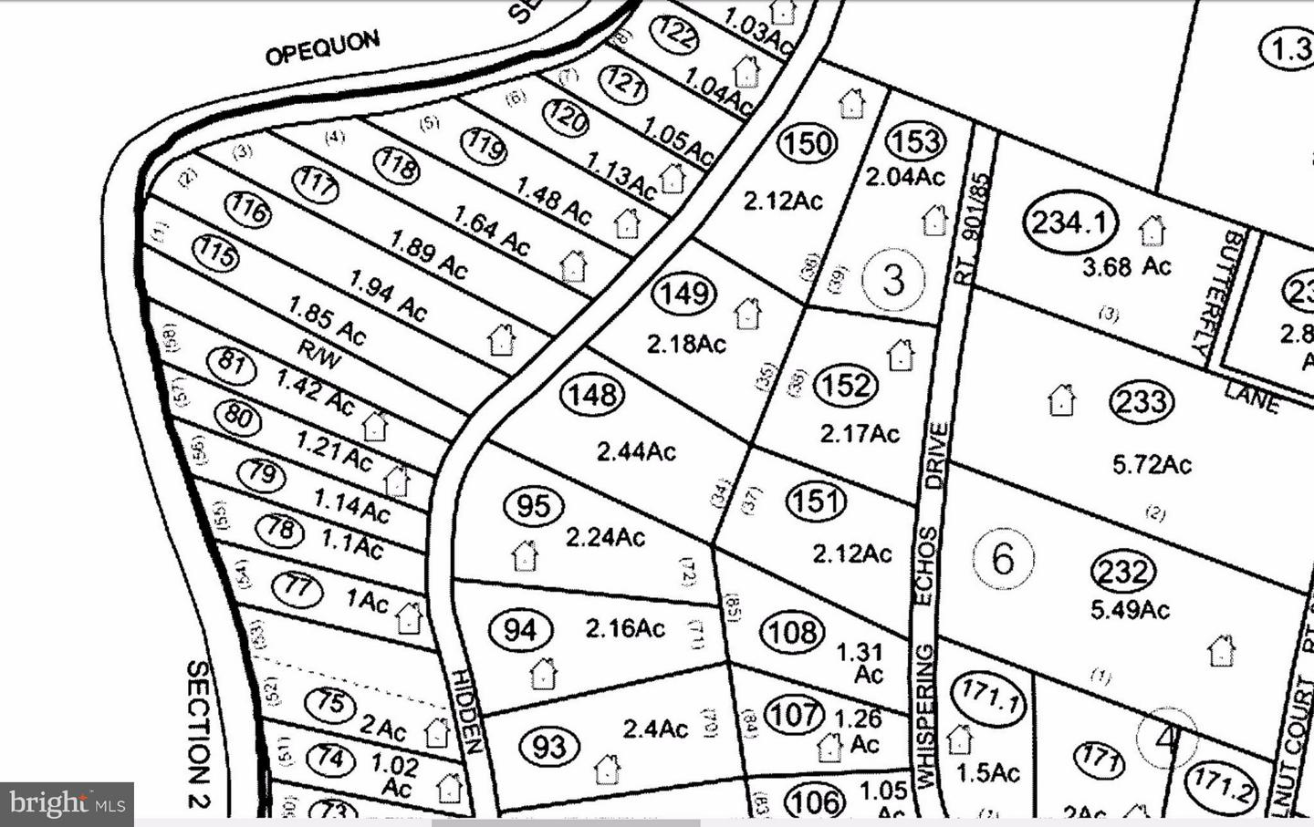 LOT 37 WHISPERING ECHOS Drive Kearneysville West Virginia