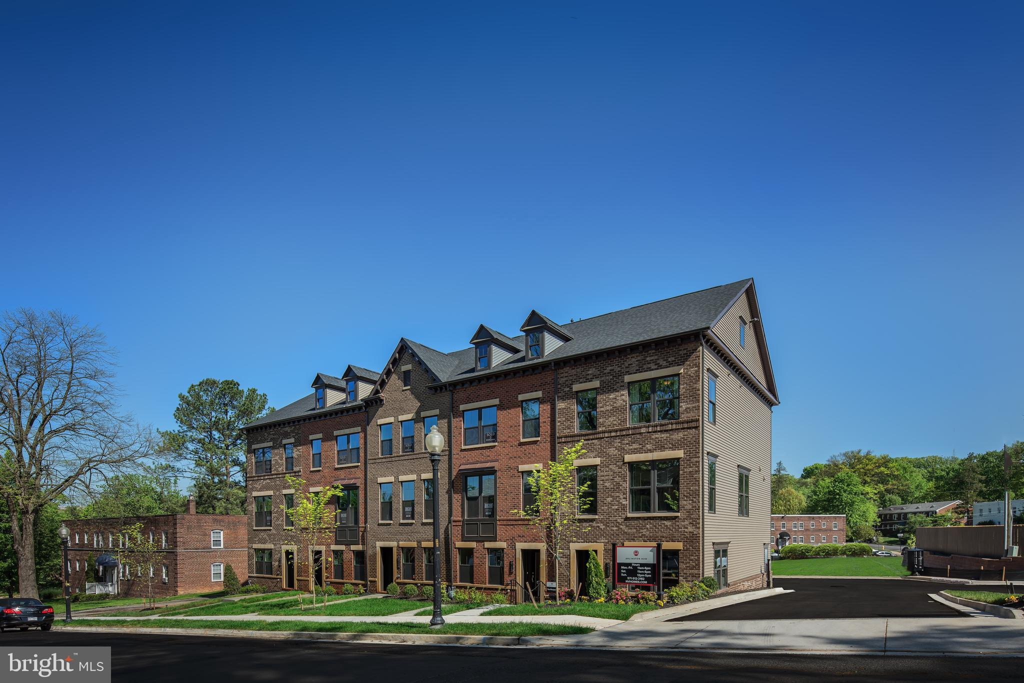 3-5 bedrooms.  up to 4 full baths. Optional 4 level with rooftop terrace.  2 car garage.  Arlington Row is one of the absolute best townhome opportunities in Arlington. Don~t miss your chance to own one of the few homes we~ll offer here.  Receive 10k in CC with NVRM.