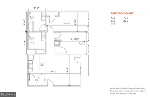 Property for sale at 9 N 9th St #419, Philadelphia,  Pennsylvania 19107