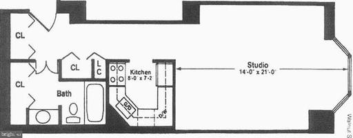 Property for sale at 2018-32 Walnut St #24m, Philadelphia,  Pennsylvania 19103