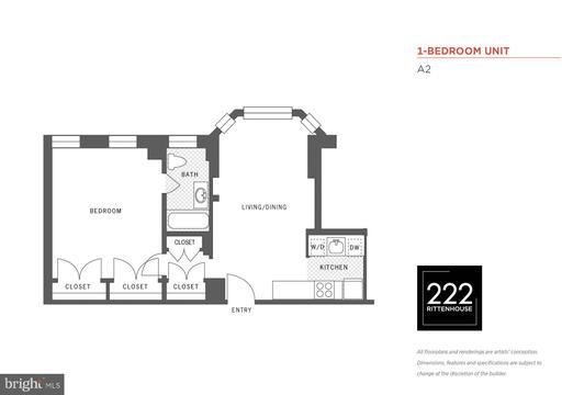 Property for sale at 222 W Rittenhouse Sq #1502, Philadelphia,  Pennsylvania 19103