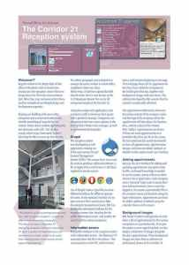 Reception System Brochure