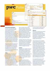 PwC Pulse Brochure