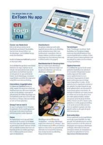 EnToen Nu App Brochure