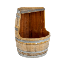 Wine Barrel Bar Stand Cooler Rental Bright Rentals
