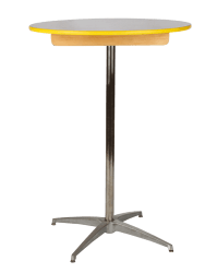 """TALL COCKTAIL TABLE 30"""" ROUND X 42"""" HIGH Rentals 