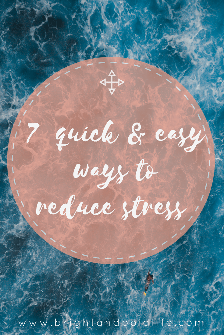 Sometimes life gets overwhelming. Here are 7 things that you can do in 10 minutes or less that will help you decrease your stress levels, sleep better and get through your to do list without going insane.