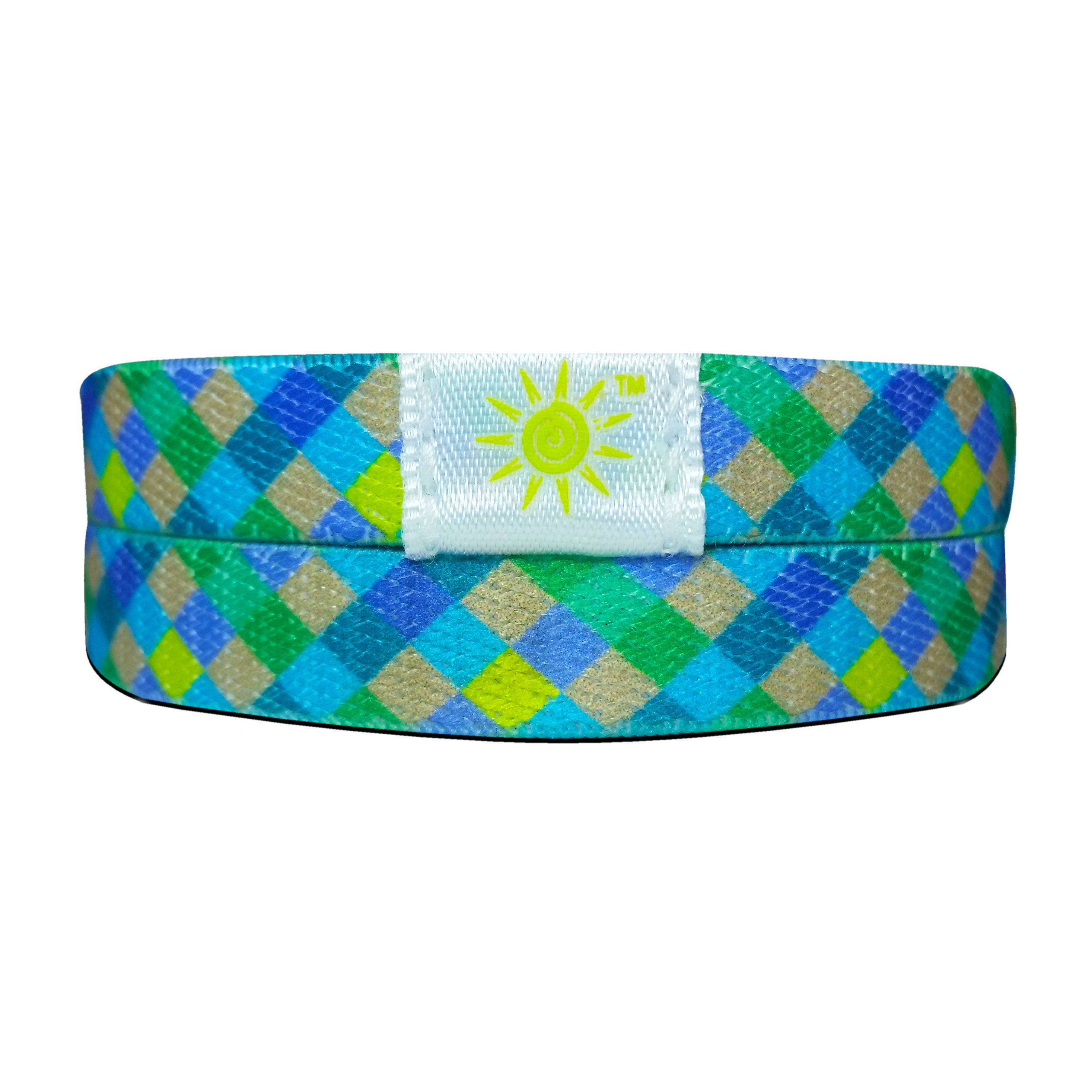 Blue & Green Wrist-Band