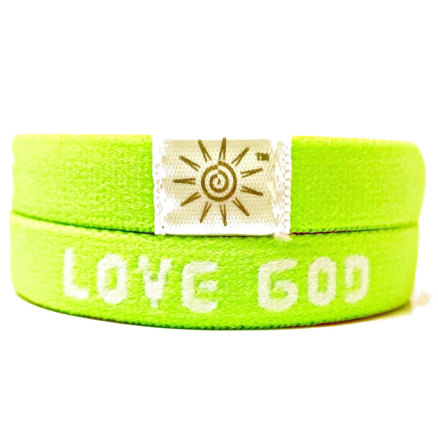 LOVE GOD LOVE OTHERS GREEN