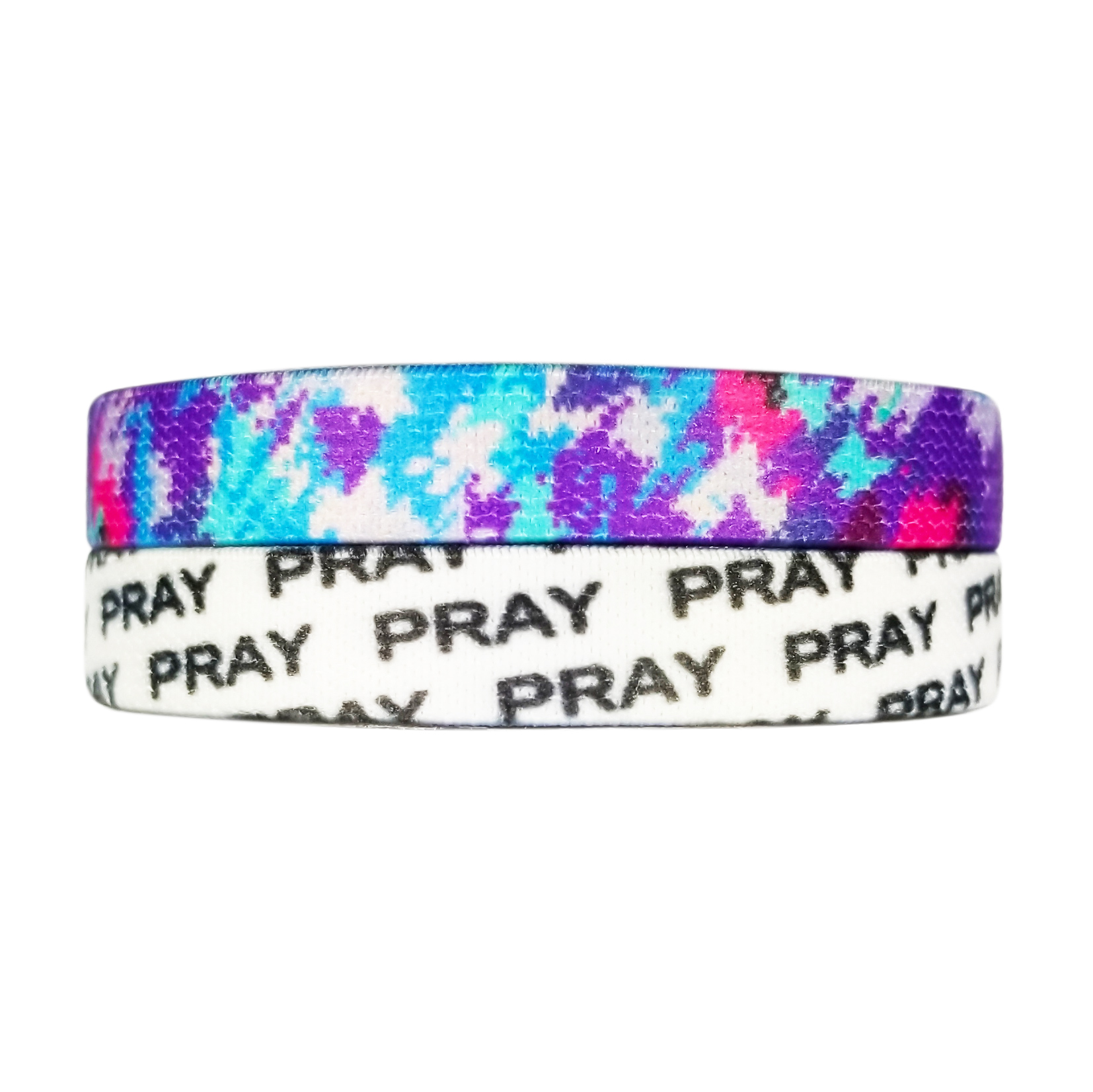 bracelet silicone band dp com black wristband white affirmation religious wrist blessed letters clothing amazon