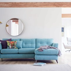 Bright Sofa High Point Florence Sc Blue Upholstered Track Arm Style