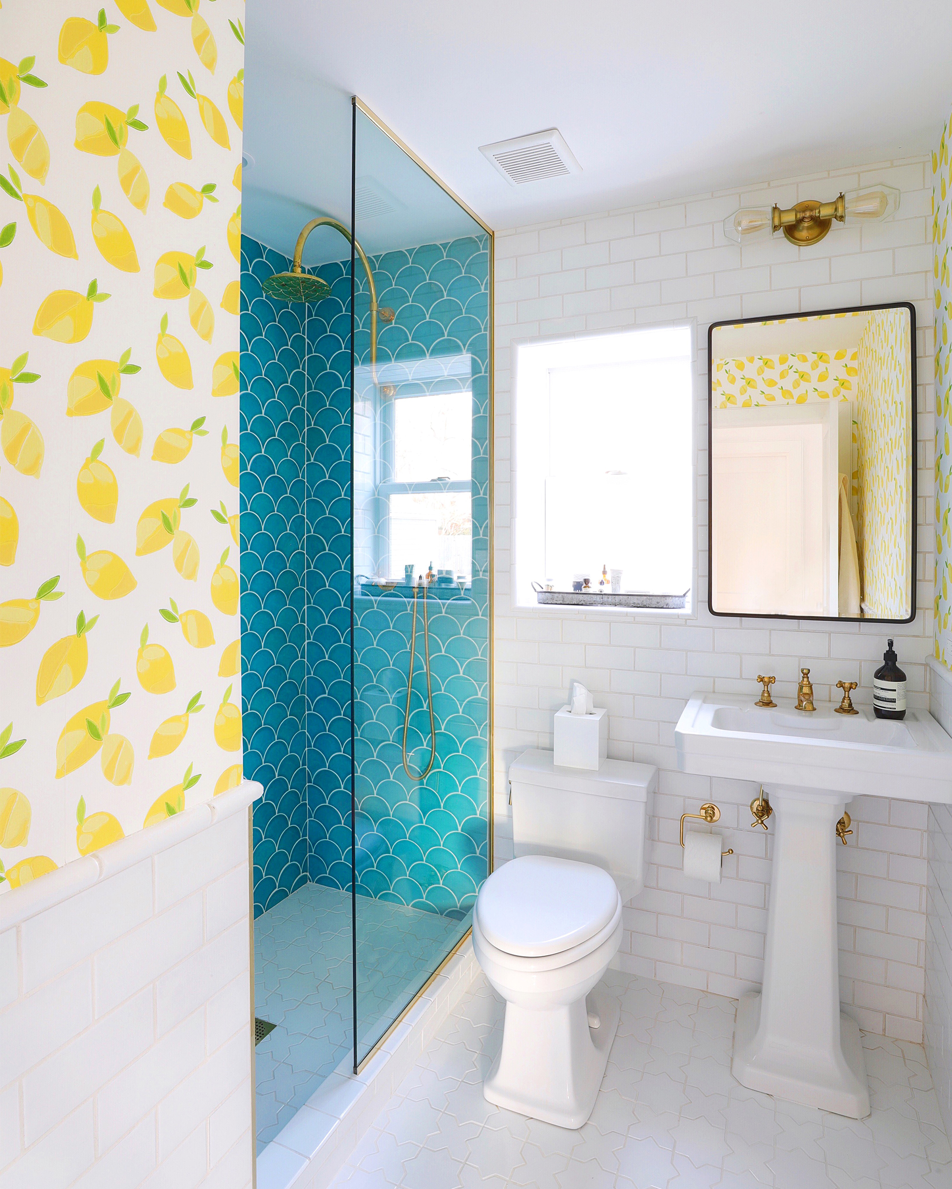 Beach House Guest Bathroom Reveal  Bright Bazaar by Will Taylor