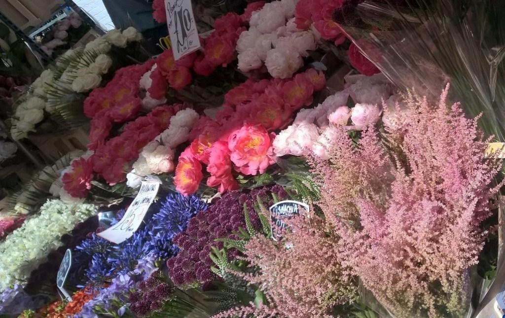 columbia road flowers