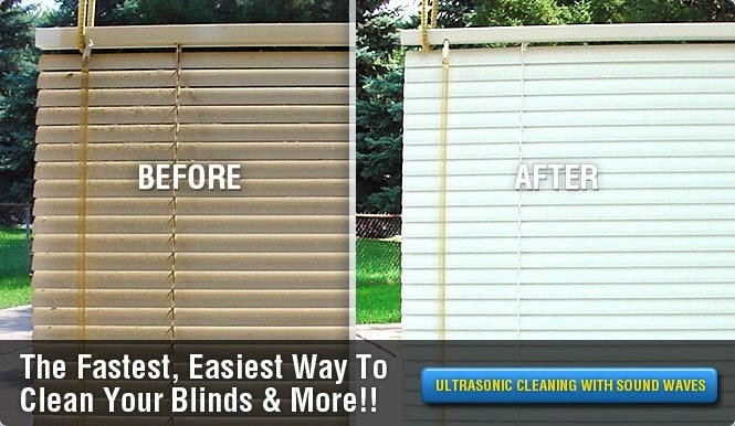 Blinds Before & After