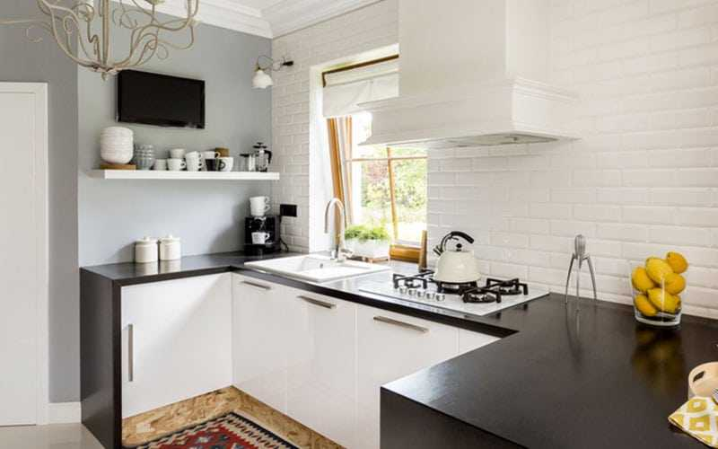 small kitchen tv epoxy commercial flooring what to know before you buy a bright builders