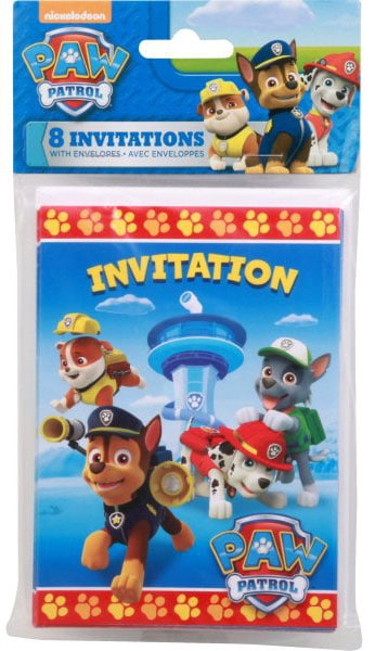 31 pup tastic paw patrol invitations to