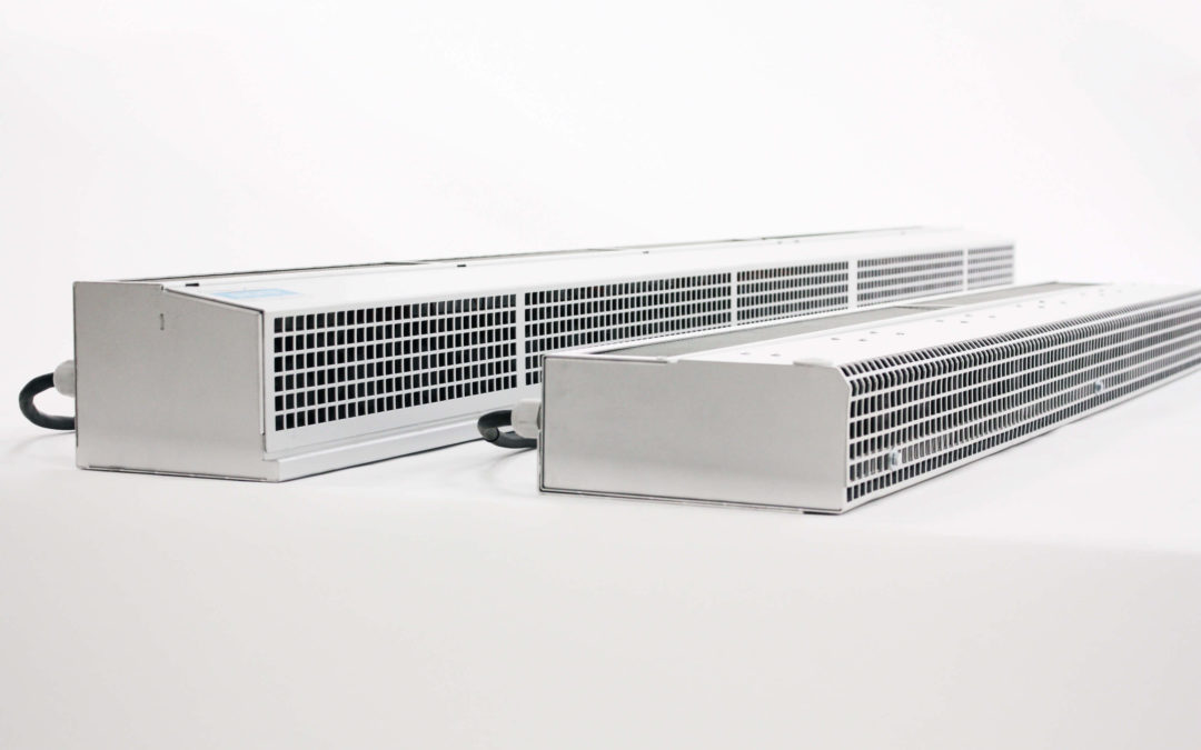 air curtain for refrigerated vans the