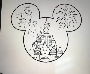 disney drawing sketch inspiration magical ourartworld found