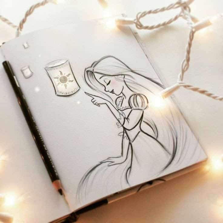 30 Magical Disney Drawing Sketch Ideas Amp Inspiration