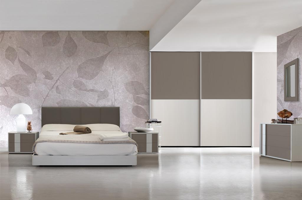 Camera da letto moderna  Brighter Home