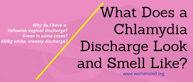 Chlamydia-discharge-color-smell