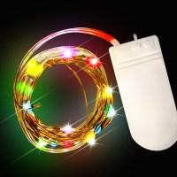 Multi Color LED String Lights - Light Up Novelties