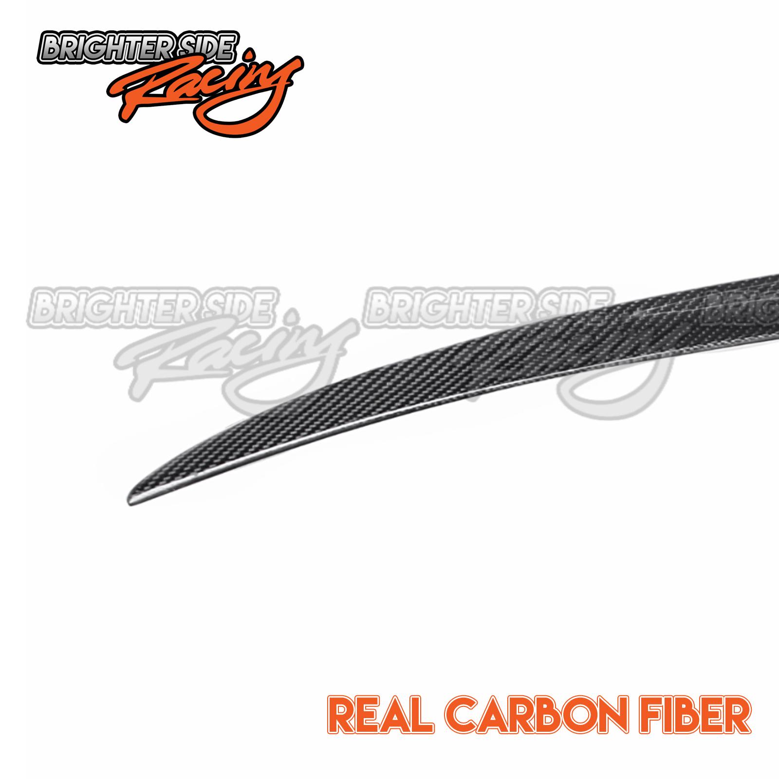 For 12 18 Bmw F30 328i 335i 4dr Thin Mstyle Carbon Fiber