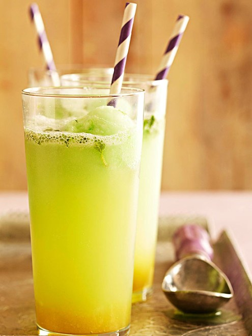 gingermint lime float