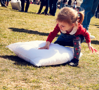 Photos: National Pillow Fight Day