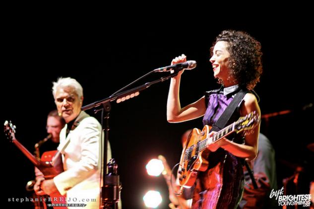 David Byrne and St Vincent live show DC