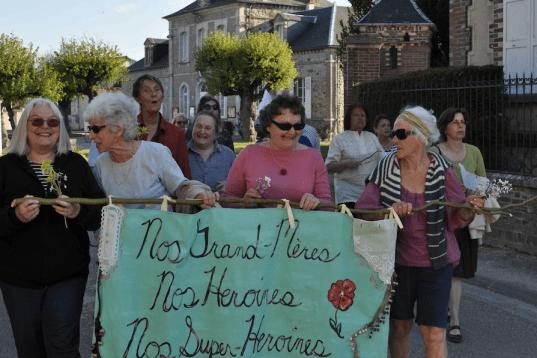 grandma parade