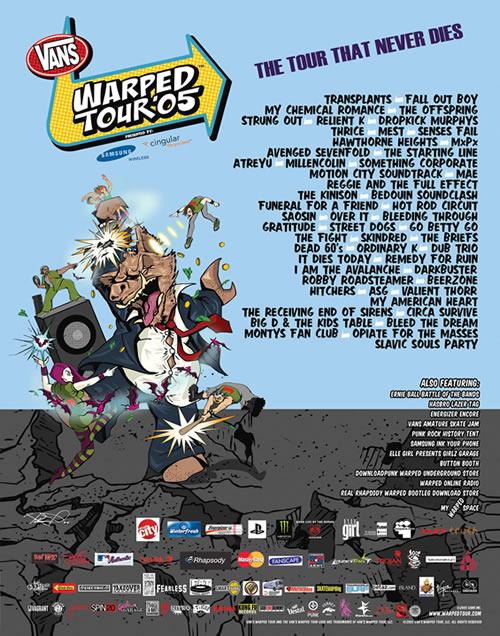 Vans+Warped+Tour+vintage_poster_2005