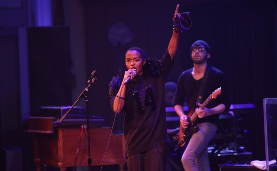 Ms. Lauryn Hill at Rock Like a Girl - April 5, 2014. Photo by Jati Lindsay.