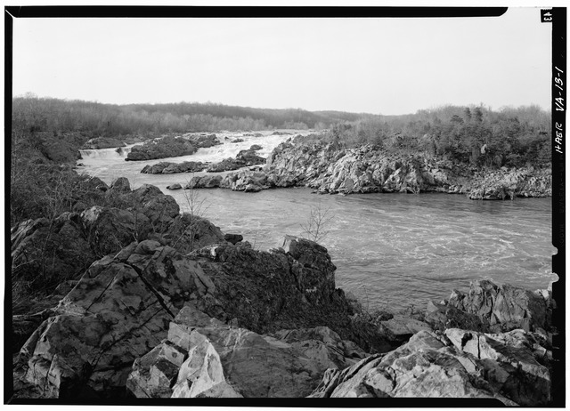 Great_Falls_of_the_Potomac,_the_area_by-passed_by_the_canal._1971._-_Potowmack_Company-_Great_Falls_Canal_and_Locks,_Great_Falls,_Fairfax_County,_VA_HAER_VA,30-GREFA,1-1.tif