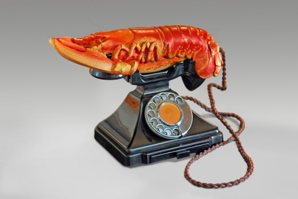 Lobster Telephone, 1938 West Dean College – part of The Edward James Foundation Group © Salvador Dalí, Fundació Gala-Salvador Dalí, Artists Rights Society (ARS), New York 2015
